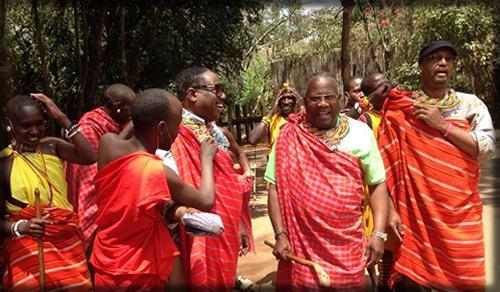 Bishop Dennis in Africa